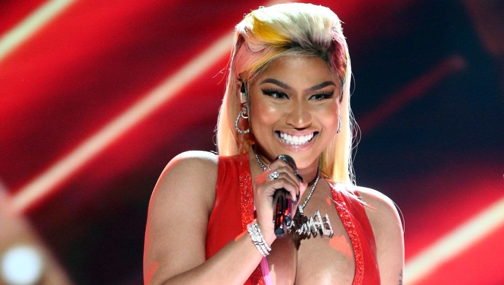 LOS ANGELES, CA - JUNE 24:  Nicki Minaj performs onstage at the 2018 BET Awards at Microsoft Theater on June 24, 2018 in Los Angeles, California.  (Photo by Frederick M. Brown/Getty Images for BET)