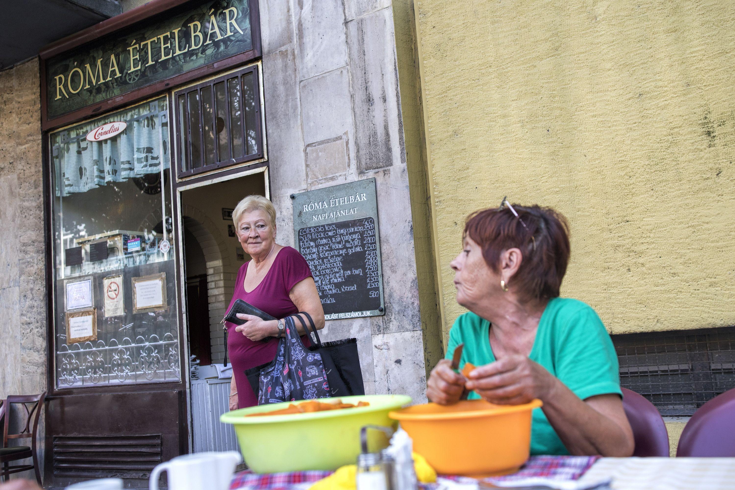 róma ételbár utolsó napja