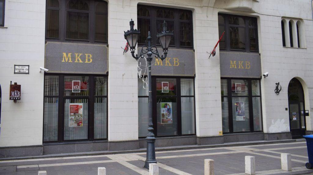 Budapest, 2016. november 26. Az MKB Bank, korábban Magyar Külkereskedelmi Bank irodája a V. kerületi Hercegpímás utában. MTVA/Bizományosi: Róka László  *************************** Kedves Felhasználó! Ez a fotó nem a Duna Médiaszolgáltató Zrt./MTI által készített és kiadott fényképfelvétel, így harmadik személy által támasztott bárminemû – különösen szerzõi jogi, szomszédos jogi és személyiségi jogi – igényért a fotó készítõje közvetlenül maga áll helyt, az MTVA felelõssége e körben kizárt.