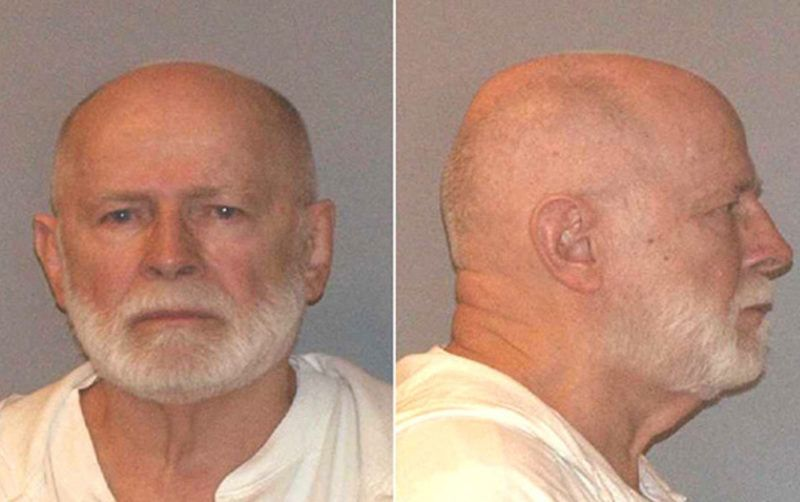 """This 2011 United States Marshals Service mug shot shows former oganized crime figure, suspect James """"Whitey Bulger. The long-awaited trial of Bulger is set to begin on June 4, 2013 with the task of finding 18 impartial jurors in a pool of 675, an extraordinary number to choose from that reflects the first challenge of the complex case. Bulger was arrested outside an apartment on June 22, 2011 in Santa Monica, California. Arrested with him was his longtime girlfriend Catherine Greig, he was 81 years old at the time of his arrest. Greig pleaded guilty to conspiracy to harbor a fugitive, identity fraud and conspiracy to commit identity fraud, and was sentenced in June 2012 to eight years in prison. Bulger has not sought bail and remains in custody at the Plymouth County House of Correction in Plymouth, Massachusetts. AFP PHOTO / US MARSHALS SERVICE == RESTRICTED TO EDITORIAL USE / MANDATORY CREDIT: """"AFP PHOTO / US MARSHALS SERVICE / NO MARKETING / NO ADVERTISING CAMPAIGNS / DISTRIBUTED AS A SERVICE TO CLIENTS == (Photo by HO / US MARSHALS SERVICE / AFP)"""