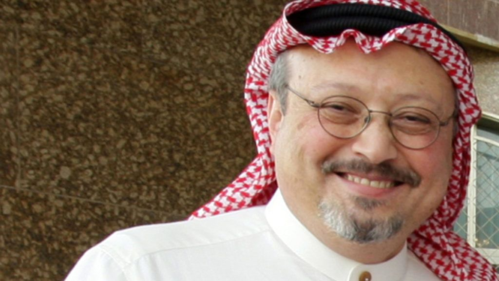 """An undated recent file picture shows prominent Saudi journalist Jamal Khashoggi who resigned suddenly on May 16, 2010 in Riyadh from the helm of Al-Watan days after the newspaper published a controversial column criticising Salafism. Al-Watan announced that Khashoggi, 52, was stepping down as editor-in-chief """"to focus on his personal projects,"""" in a statement published on its website and in its Sunday edition. AFP PHOTO/STR (Photo by AFP)"""