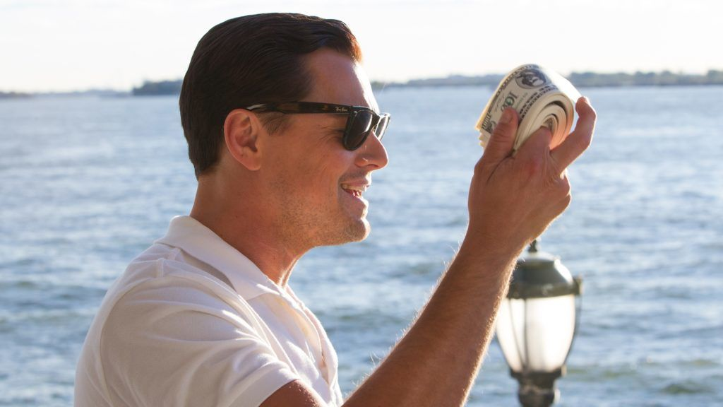 The Wolf of Wall Street Year : 2013 USA Director : Martin Scorsese Leonardo DiCaprio Photo: Mary Cybulski. It is forbidden to reproduce the photograph out of context of the promotion of the film. It must be credited to the Film Company and/or the photographer assigned by or authorized by/allowed on the set by the Film Company. Restricted to Editorial Use. Photo12 does not grant publicity rights of the persons represented.