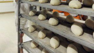 Balmazújváros, 2016. december 29. Béke Ferenc dagasztó kelesztõbe tolja a megformázott kenyereket a balmazújvárosi Balmaz Sütõde Kft.-ben. Közel két éves elõkészítés után tizenöt pontban változott meg a Magyar Élelmiszerkönyv, ami a kenyér és pékáruk beltartalmának pontos, kötelezõ módosításait tartalmazza. Az új elõírások gyakran a technológiák átírásával járnak. MTVA/Bizományosi: Oláh Tibor  *************************** Kedves Felhasználó! Ez a fotó nem a Duna Médiaszolgáltató Zrt./MTI által készített és kiadott fényképfelvétel, így harmadik személy által támasztott bárminemû – különösen szerzõi jogi, szomszédos jogi és személyiségi jogi – igényért a fotó készítõje közvetlenül maga áll helyt, az MTVA felelõssége e körben kizárt.