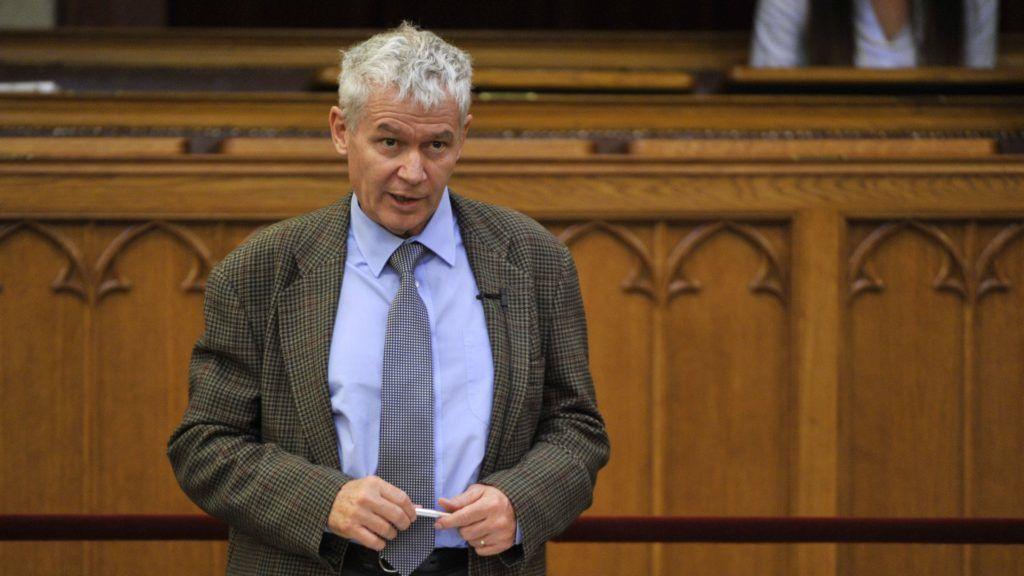 Budapest, 2017. május 22. Polt Péter legfõbb ügyész az Országgyûlés plenáris ülésén 2017. május 22-én. MTI Fotó: Kovács Attila