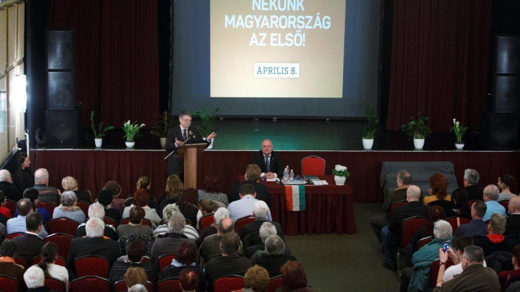 Választás 2018 - A Fidesz-KDNP lakossági fóruma Marcaliban
