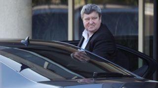 Velence, 2018. szeptember 12. Tállai András, a Pénzügyminisztérium parlamenti államtitkára érkezik a Fidesz-KDNP frakciószövetség háromnapos kihelyezett ülésére egy velencei szállodába 2018. szeptember 12-én. MTI Fotó: Koszticsák Szilárd