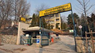 Budapest, 2011. március 4. A Fõvárosi Önkormányzat Szent János Kórházához tartozó Budai Gyermekkórház bejárata. A felvétel 2011. február 23-án készült. MTI Fotó: Máthé Zoltán