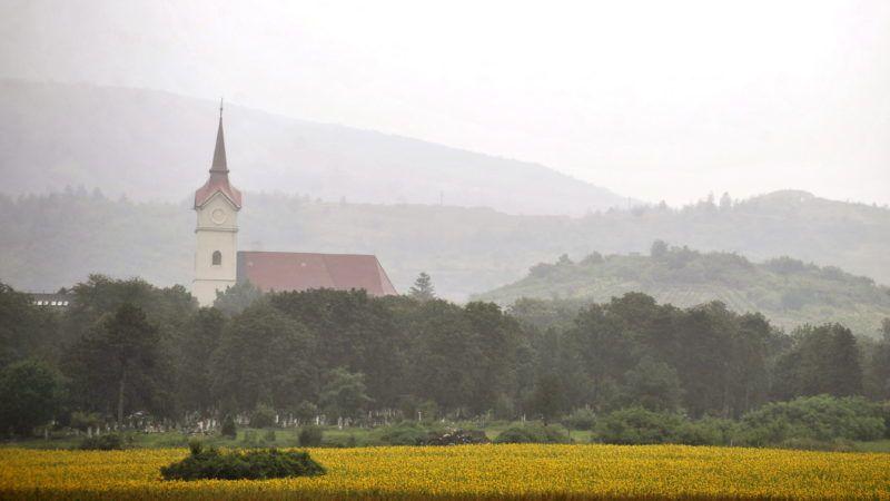 Tállya, 2010. július 27. Templomtorony Tállyán. MTI Fotó: Beliczay László