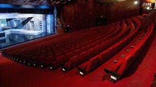Gyõr, 2018. március 27. A Gyõri Nemzeti Színház nézõtere 2018. március 27-én. A színház a Teatro Építész Mûterem Kft. tervei alapján újul meg a Modern városok program keretében 2019 és 2021 között. MTI Fotó: Teatro Építész Mûterem Kft.