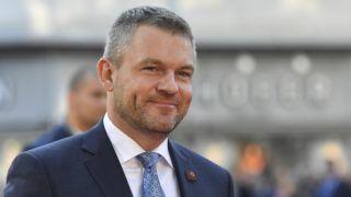 Salzburg, 2018. szeptember 20. Peter Pellegrini szlovák miniszterelnök érkezik az Európai Unió salzburgi nem hivatalos csúcstalálkozójának második napi ülésére 2018. szeptember 20-án. (MTI/AP/Kerstin Joensson)
