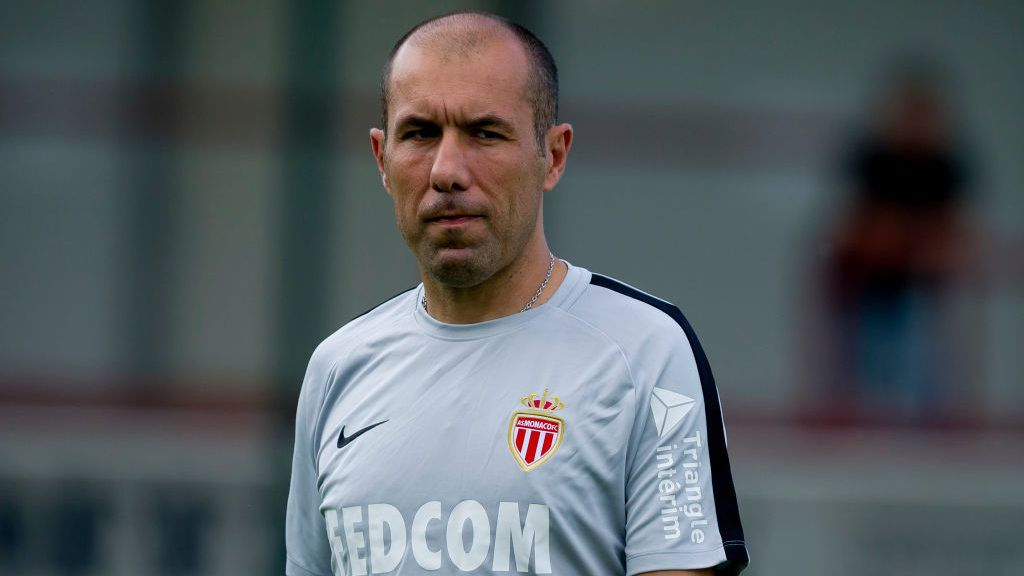 VERL, GERMANY - JULY 25: Head coach Leonardo Jardim of Monaco looks on during the Friendly match between VfL Bochum and AS Monaco at Stadion an der Poststraße on July 25, 2018 in Verl, Germany. (Photo by TF-Images/Getty Images)