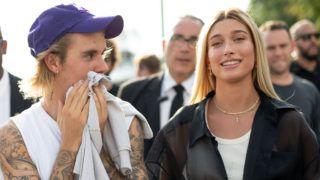 NEW YORK, NY - SEPTEMBER 06:  Justin Bieber and Hailey Baldwin are seen on the street attending John Elliott during New York Fashion Week SS19 on September 6, 2018 in New York City.  (Photo by Matthew Sperzel/Getty Images)