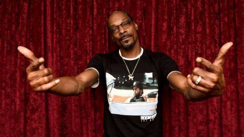 NEW YORK, NY - SEPTEMBER 17:  Snoop Dogg visits the SiriusXM Studios on September 17, 2018 in New York City.  (Photo by Ilya S. Savenok/Getty Images)
