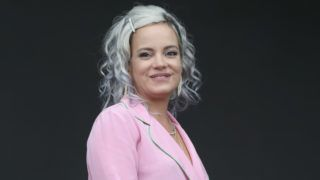 AUSTIN, TEXAS - OCTOBER 12:  Lily Allen performs in concert during the second weekend of the ACL Music Festival at Zilker Park on October 12, 2018 in Austin, Texas.  (Photo by Gary Miller/Getty Images)