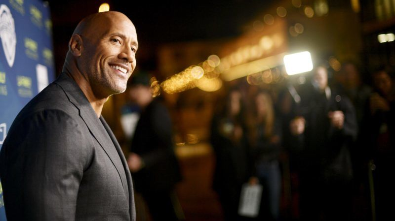 WEST HOLLYWOOD, CA - APRIL 05:  Dwayne Johnson attends the 2018 LA Family Housing Awards at The Lot in West Hollywood on April 5, 2018 in West Hollywood, California.  (Photo by Matt Winkelmeyer/Getty Images)