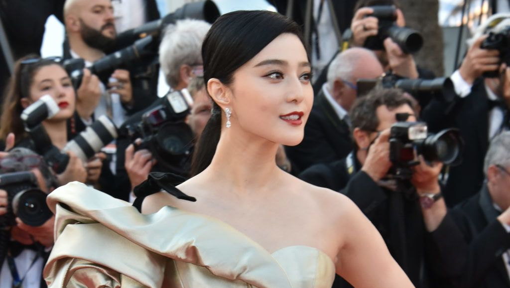 """CANNES, FRANCE - MAY 11:  Fan Bingbing attends the screening of """"Ash Is The Purest White (Jiang Hu Er Nv)"""" during the 71st annual Cannes Film Festival at Palais des Festivals on May 11, 2018 in Cannes, France.  (Photo by Foc Kan/FilmMagic)"""
