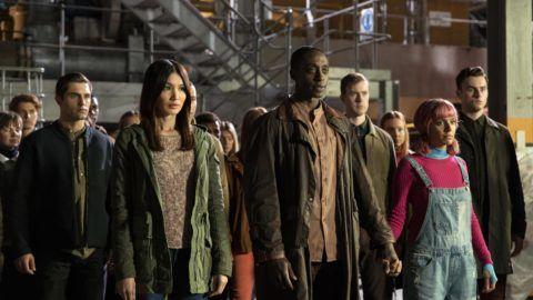 Mia (Gemma Chan), Max (Ivanno Jeremiah), Flash (Ritu Arya)