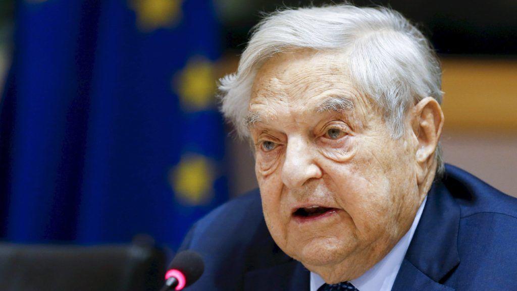 Brüsszel, 2016. június 30. Az Európai Parlament által közreadott képen Soros György magyar származású amerikai üzletember, a New York-i Soros Fund Management befektetési társaság elnöke az EP fejlesztési, költségvetési, bel- és igazságügyi bizottságainak közös konferenciáján Brüsszelben 2016. június 30-án. (MTI/Európai Parlament/Philippe Buissin)