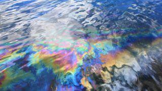 Oil spill from USS Arizona battleship in Pearl Harbor