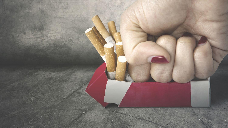 leszokni a dohányzásról, és ismét világítani