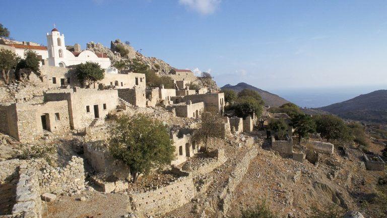 Mikro Horio, Tilos, Dodecanese Islands, Greece, Europe