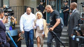 Cardi B Seen Leaving 109 Police Precinct  In Queens. 01 Oct 2018 Pictured: Cardi B. Photo credit: MEGA  TheMegaAgency.com +1 888 505 6342 October 1, 2018  *** Local Caption *** MEGA284531_004