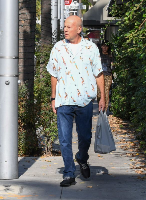 Bruce Willis is seen in Los Angeles, California. 13 Oct 2018 Pictured: Bruce Willis. Photo credit: BG002/Bauergriffin.com / MEGA  TheMegaAgency.com +1 888 505 6342 *** Local Caption *** MEGA291846_007
