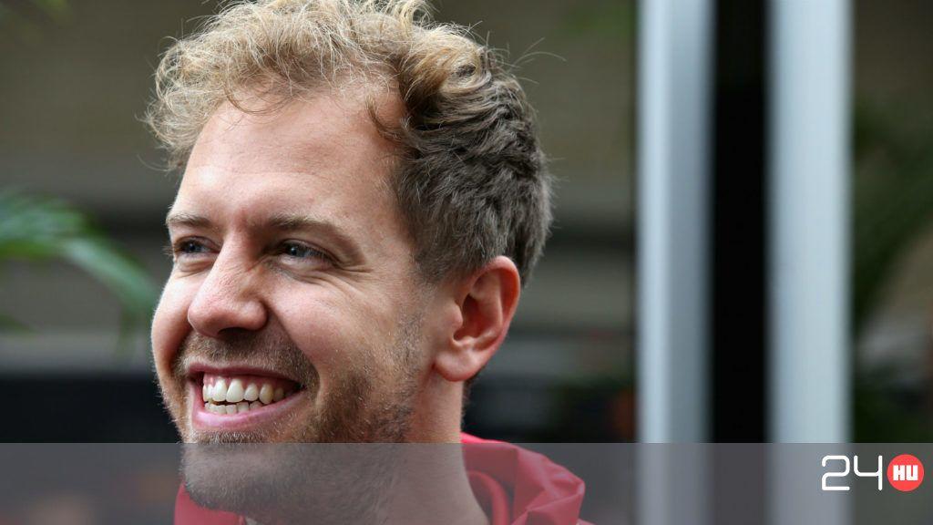 Végre Vettelnek is jutott némi sikerélmény