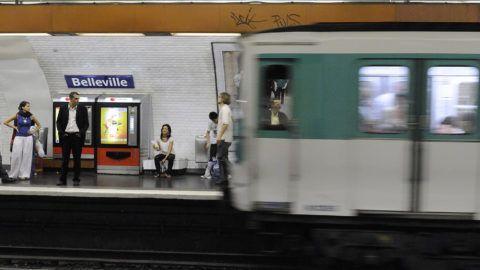 FRANCE. PARIS (75) BELLEVILLE-MENILMONTANT. METRO
