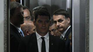 DF - Brasilia - 11/20/2018 - Bolsonaro visits PGR - Jair Bolsonaro, president of the republic elected, this Tuesday, November 20, during a visit to PGR. Photo: Mateus Bonomi / AGIF