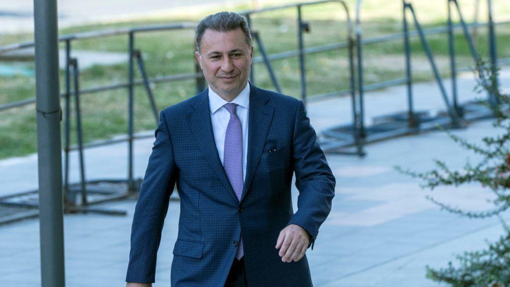 Macedón belügy: Gruevszki Magyarországon várja menedékkérelme elbírálását
