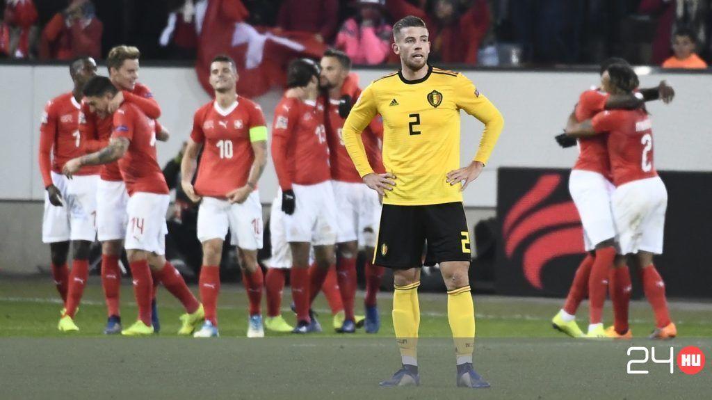 17 perc után már kettővel ment Belgium, végül mégis tönkreverték őket a svájciak.