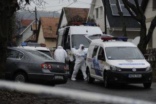 Budapest, 2018. november 21. Bûnügyi helyszínelõk a fõváros III. kerületében, ahol több lövéssel végeztek egy nõvel hajnalban 2018. november 21-én. A bûncselekménnyel gyanúsítható férfit a helyszín közelében elfogták. MTI/Mihádák Zoltán