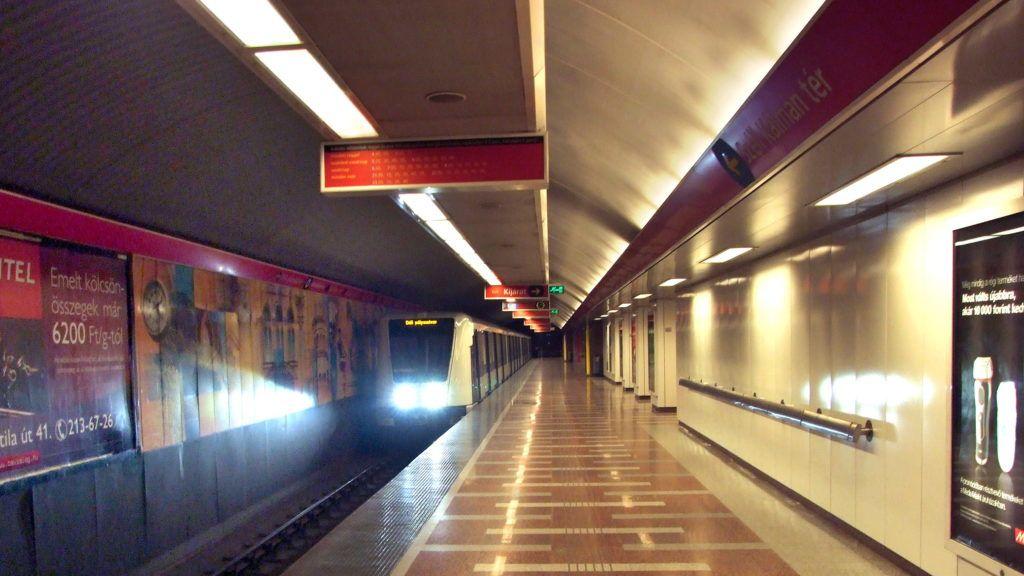 Nem jár a metró a Déli pályaudvar és a Deák Ferenc tér között