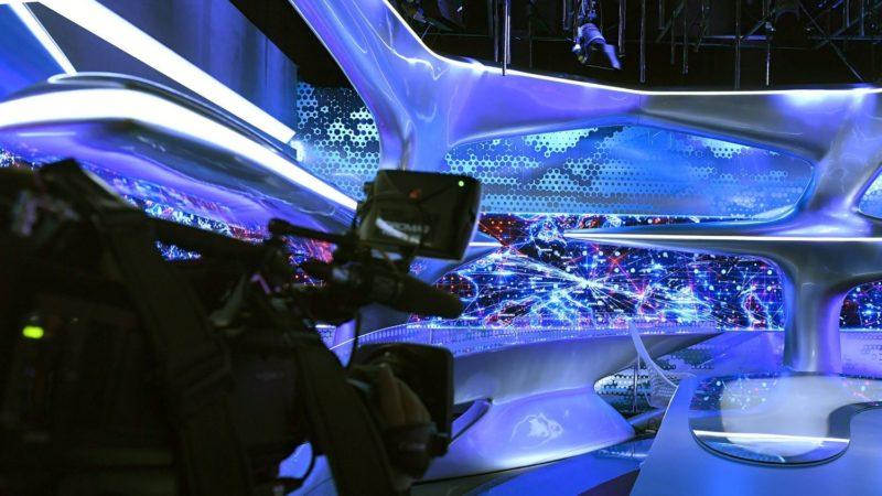 Budapest, 2017. december 4. Az Echo TV I. emeleti stúdiója a XIV. kerületi Angol utcában, ahol sajtótájékoztatót tartottak az Echo TV fejlesztéseinek hátterérõl és a televízió stratégiai céljairól 2017. december 4-én. MTI Fotó: Koszticsák Szilárd