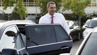 Velence, 2018. szeptember 12. Lázár János érkezik a Fidesz-KDNP frakciószövetség háromnapos kihelyezett ülésére egy velencei szállodába 2018. szeptember 12-én. MTI Fotó: Koszticsák Szilárd