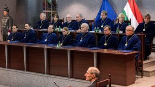Az Alkotmánybíróság nyilvános ülése