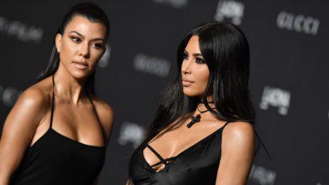 LOS ANGELES, CA - NOVEMBER 03:  Kourtney Kardashian and Kim Kardashian attend the 2018 LACMA Art + Film Gala at LACMA on November 03, 2018 in Los Angeles, California.  (Photo by Axelle/Bauer-Griffin/FilmMagic)