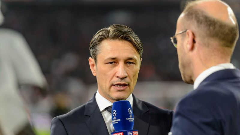 MUNICH, GERMANY - NOVEMBER 07: head coach Niko Kovac of Bayern Muenchen looks on during the Group E match of the UEFA Champions League between FC Bayern Muenchen and AEK Athens at Allianz Arena on November 7, 2018 in Munich, Germany. (Photo by TF-Images/Getty Images)