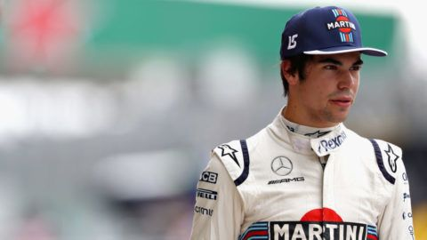 SAO PAULO, BRAZIL - NOVEMBER 10: Lance Stroll of Canada and Williams walks in the Pitlane during qualifying for the Formula One Grand Prix of Brazil at Autodromo Jose Carlos Pace on November 10, 2018 in Sao Paulo, Brazil.  (Photo by Mark Thompson/Getty Images)