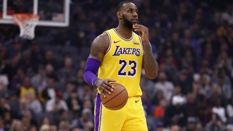 SACRAMENTO, CA - NOVEMBER 10:  LeBron James #23 of the Los Angeles Lakers in action against the Sacramento Kings at Golden 1 Center on November 10, 2018 in Sacramento, California.  NOTE TO USER: User expressly acknowledges and agrees that, by downloading and or using this photograph, User is consenting to the terms and conditions of the Getty Images License Agreement.  (Photo by Ezra Shaw/Getty Images)
