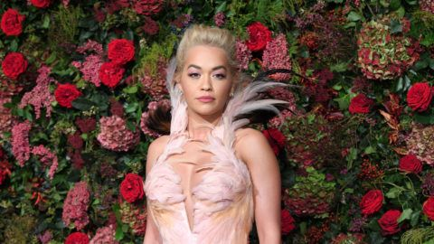 LONDON, ENGLAND - NOVEMBER 18:  Rita Ora attends the Evening Standard Theatre Awards 2018 at Theatre Royal Drury Lane on November 18, 2018 in London, England.  (Photo by Karwai Tang/WireImage)