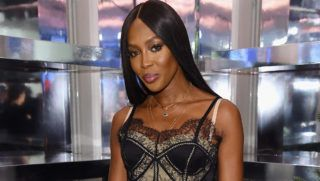 """NEW YORK, NY - NOVEMBER 19:  Naomi Campbell attends as Naomi Campbell and Matt Smith celebrate """"Close Your Eyes And Think Of Christmas"""" in New York on November 19, 2018 in New York City.  (Photo by Jamie McCarthy/Getty Images for Burberry)"""