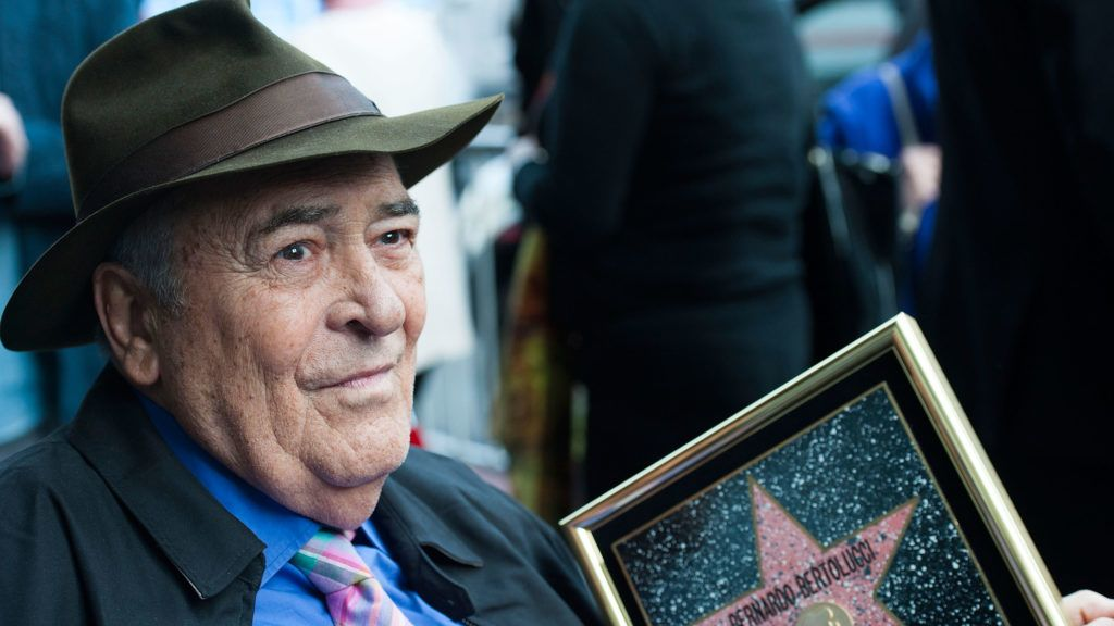 HOLLYWOOD, CA - NOVEMBER 19:  Director Bernardo Bertolucci celebrates his Star on the Hollywood Walk of Fame on November 19, 2013 in Hollywood, California.  (Photo by Valerie Macon/Getty Images)
