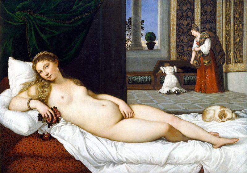 1538. Oil on canvas, 119 × 165 cm (47 x 65 in). Galleria degli Uffizi, Florence, Italy. (Photo by VCG Wilson/Corbis via Getty Images)