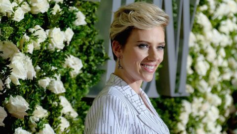 NEW YORK, NY - JUNE 11:  Scarlett Johansson attends the 2017 Tony Awards at Radio City Music Hall on June 11, 2017 in New York City.  (Photo by Jemal Countess/Getty Images for Tony Awards Productions)