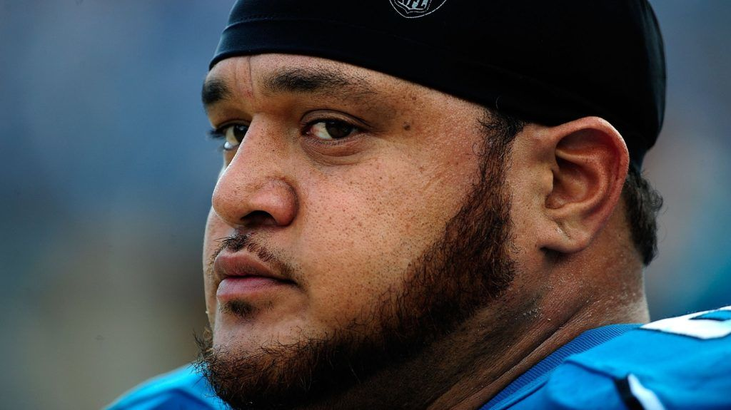 JACKSONVILLE, FL - DECEMBER 13:  Vince Manuwai #67 of the Jacksonville Jaguars watches the play during the game against the Miami Dolphins at Jacksonville Municipal Stadium on December 13, 2009 in Jacksonville, Florida.  (Photo by Sam Greenwood/Getty Images)