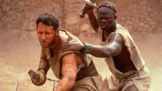 Gladiator  Gladiator   Year: 2000 - usa  RUSSELL CROWE, Djimon Hounsou   Director : ridley scott
