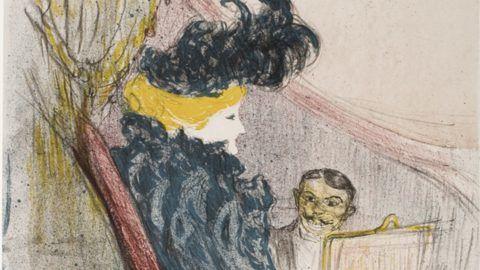 Henri de Toulouse-Lautrec (1864-1901), Idylle princière, 1897