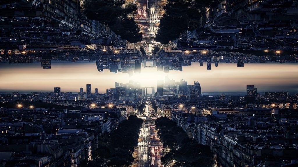 Parallel universe In Paris digital art